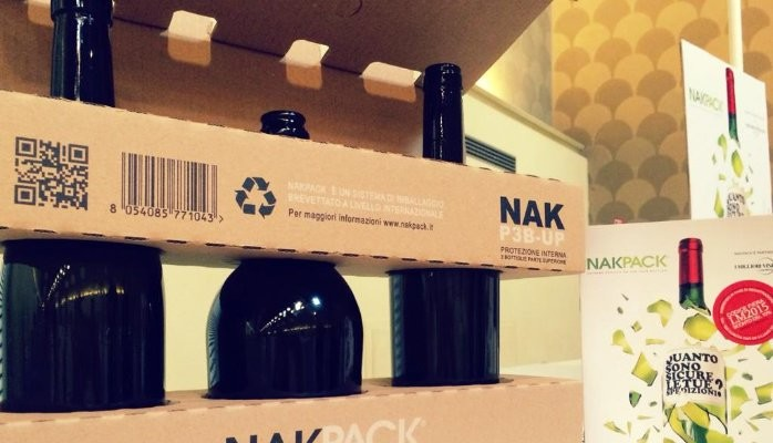 Kudos to Nakpack! The only 100% cardboard eco-friendly packaging for e-commerce of wine and beer is now available in the UK. And it is from Italy!